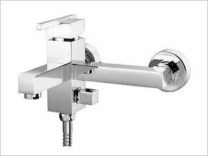 Single Lever 2 in 1 Wall Mixer (Front System)