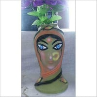 Hand Painted Flower Vases