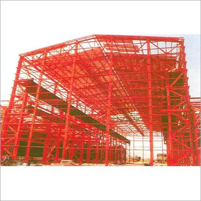 Steel Structure For Steel Rolling Mill