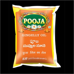 Pooja Brand Gingelly Oil