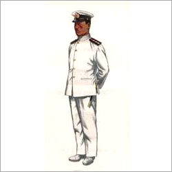 Officer White Navy Uniform