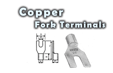 Copper FORK TERMINALS