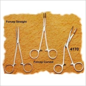 Forceps Curved  Scissors