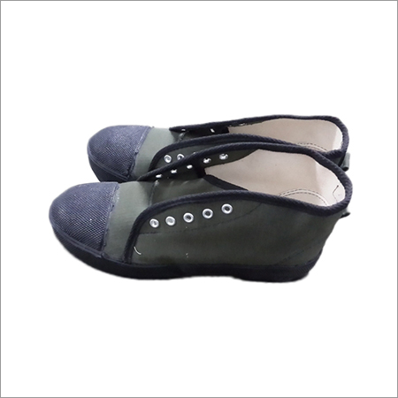 Safety Rubber Canvas Shoe
