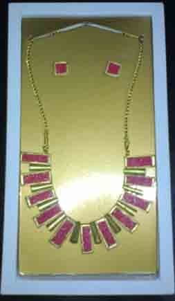 Pearl Terracotta Necklace