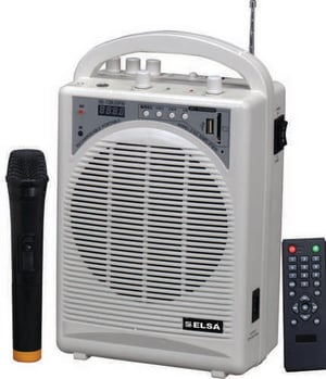Portable PA Amplifier System
