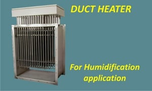 Electrical duct heaters for air and process gases