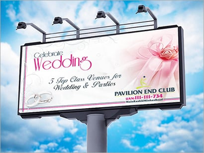 Outdoor Hoardings Advertising Services
