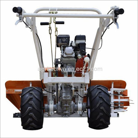 Gasoline Engine Grain Harvester