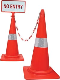 SAFETY CONE CHAINS