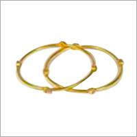 Lightweight Gold Bangles