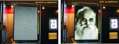 Lithophane Slim LED Light
