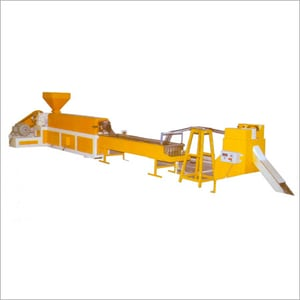 Extruxion Lines For Colouring Reprocessing Granules
