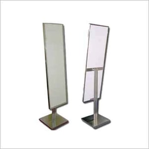 SS SOP Mirror with Stand