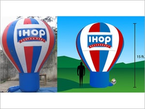 Cold Air Inflatable Advertising Balloon