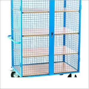 Foldable Wire Mesh Trolley