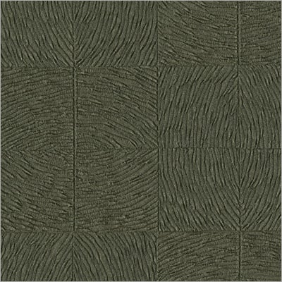 Green Patterned Vinyl Wall Covering