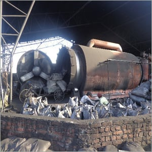 Waste Tyre Recycling Machine