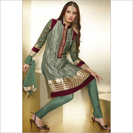 Neck Design Salwar Kameez At Best Price In Thane Maharashtra Aarav Fashions