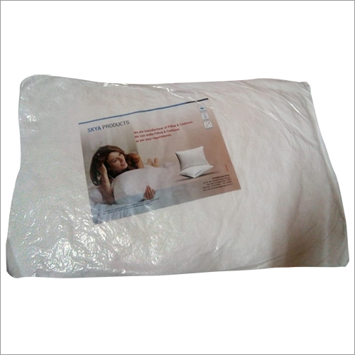 Compressed Fiber Fill Pillow