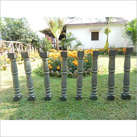 Solid Sandstone Pillars