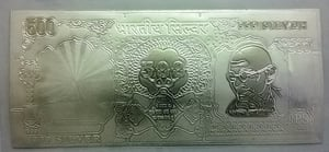 Rs 500 Silver Note