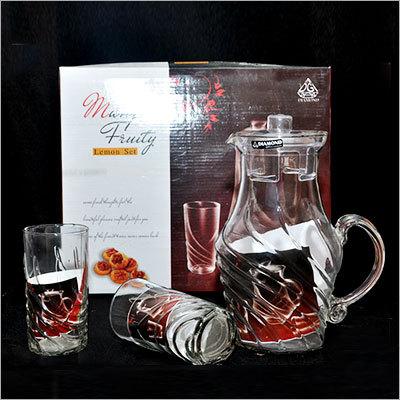 Glass Bottle  Set  (1 Pc)