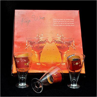 Kings Wine Set (6 Pc Wine Glass)