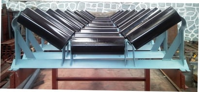 Troughed Roller Assembly