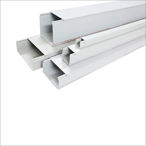Grey PVC Ducts Unslotted