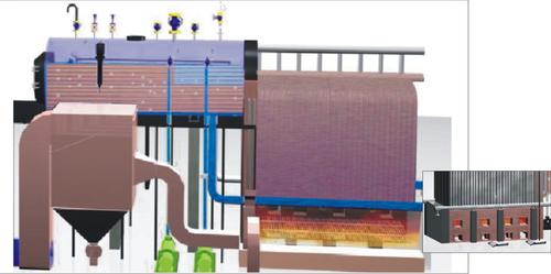 Package Boiler External Furnace