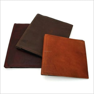 Leather Conference Folders