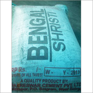 Packed Bag Cement
