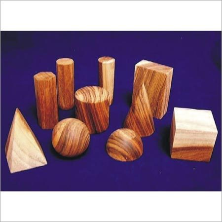 Wooden Geometrical Sets