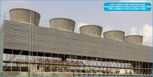 Counterflow Steel Cooling Tower