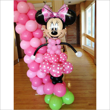 Minnie Mouse Balloon Decorations At Best Price In Mumbai