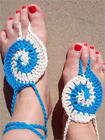 Handmade Crochet Sandal