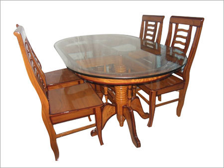 Teak Wood Dining Table Sets At Best Price In Howrah West Bengal Rupam Interior