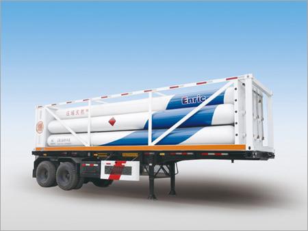 Hydrogen Gas Storage Tube Trailer