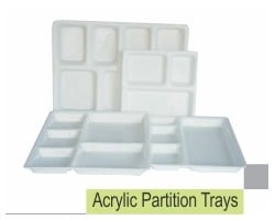 Acrylic Partition Trays
