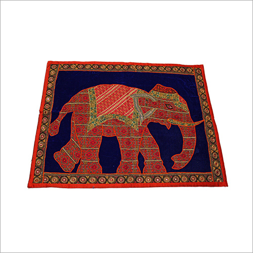 Elephant Embroidery Wall Hanging