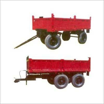 Four Wheeler Tractor Trolleys