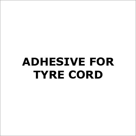 Adhesive For Tyre Cord