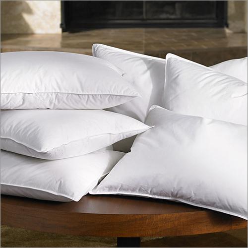 White Plain Fiber Pillow