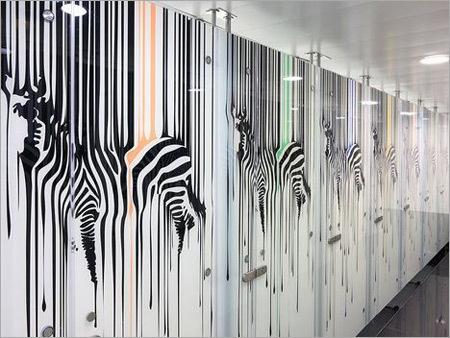 Digital Ceramic Printing Glass