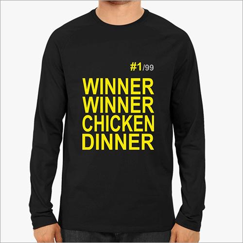Mens Full Sleeves Round Neck T-Shirt