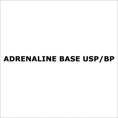 Adrenaline Base Usp-Bp