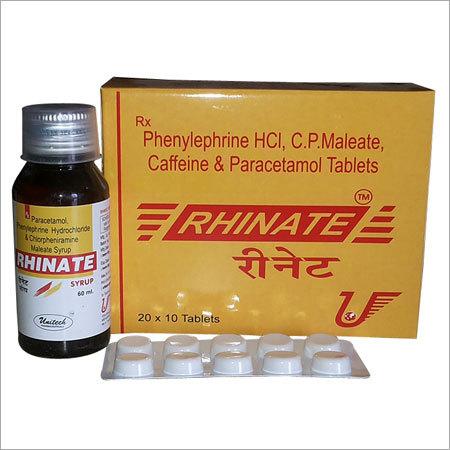 Anticold Tablet in Mehsana, Gujarat, India - UNITECH PHARMACEUTICALS