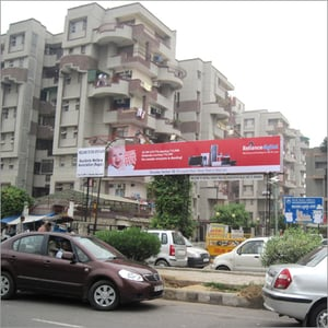 Outdoor Advertising Banner Stand