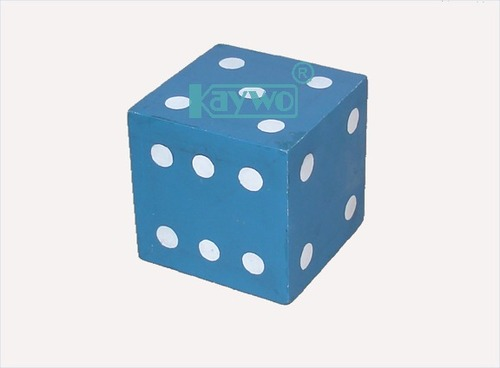 Dice Large, Wooden